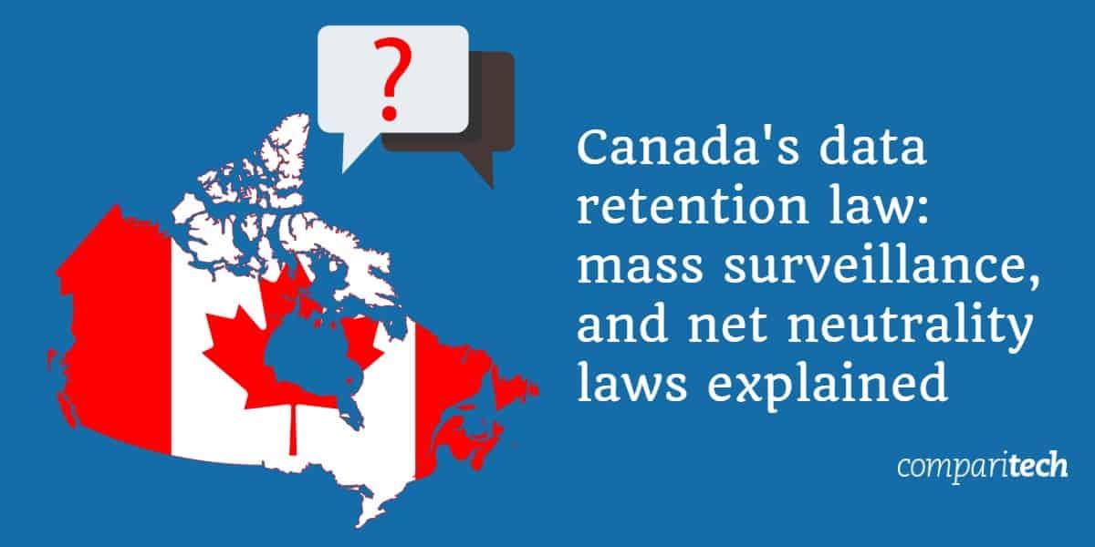 Canada's data retention laws