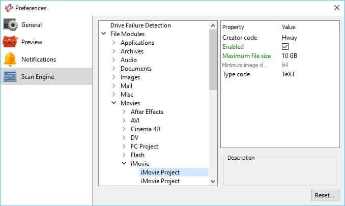 data rescue 5 design