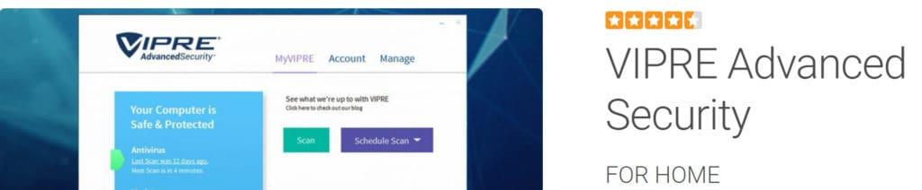 VIPRE antivirus best android antivirus