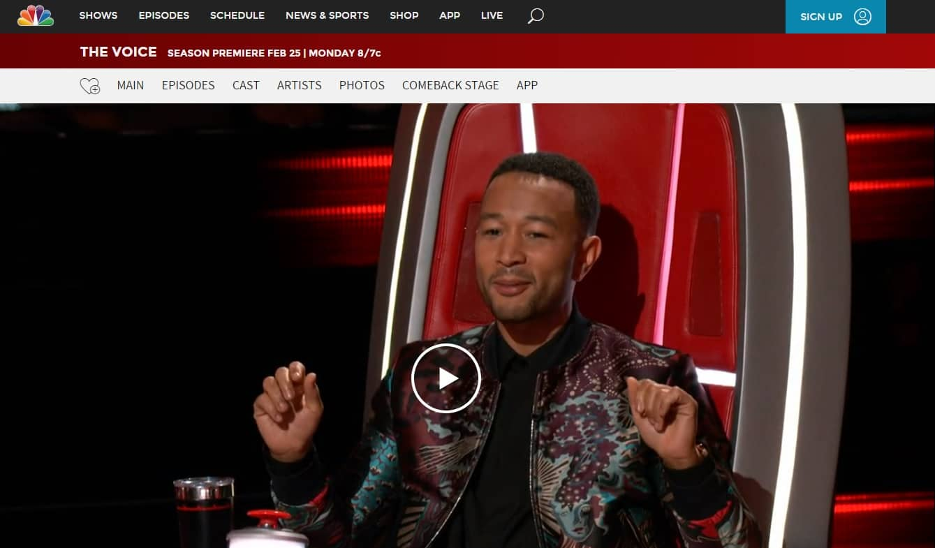 How to watch NBC's The Voice online anywhere (season 16)