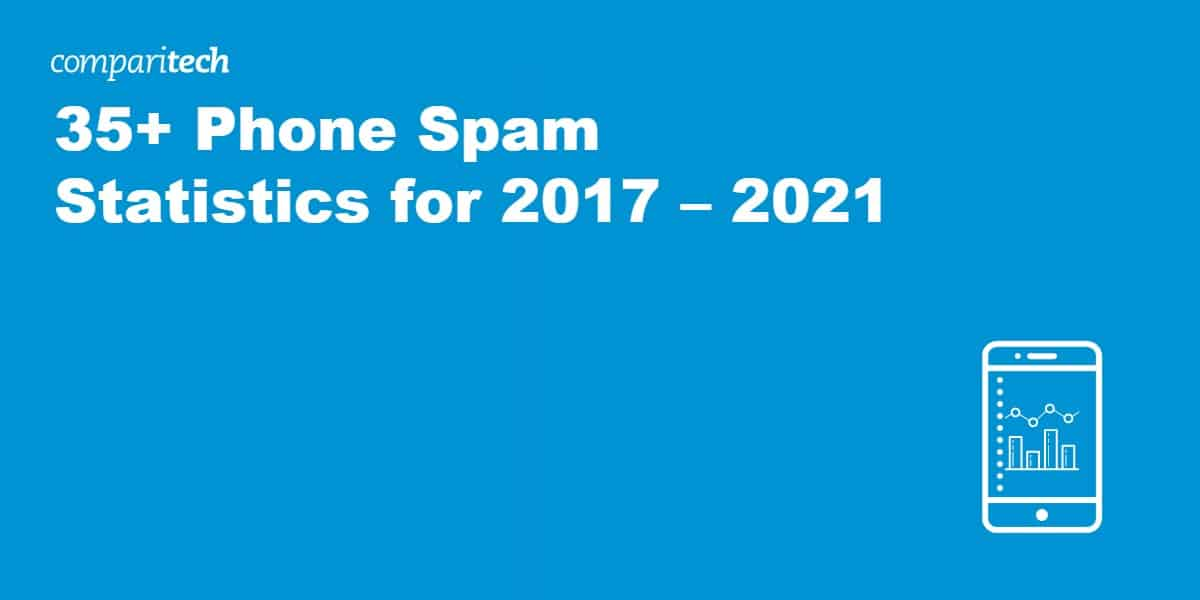 35+ Phone Spam Statistics for 2017 – 2021 (1)