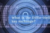 What is the Diffie–Hellman key exchange and how does it work?