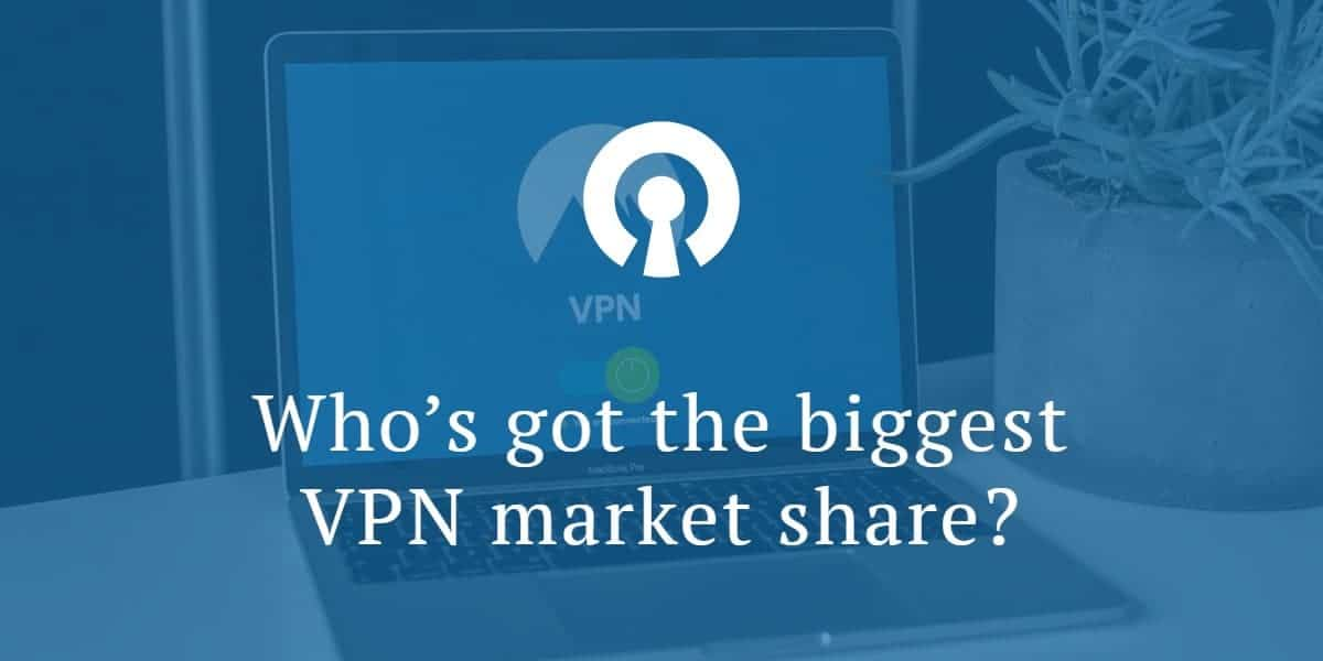 Who's got the biggest VPN market share_