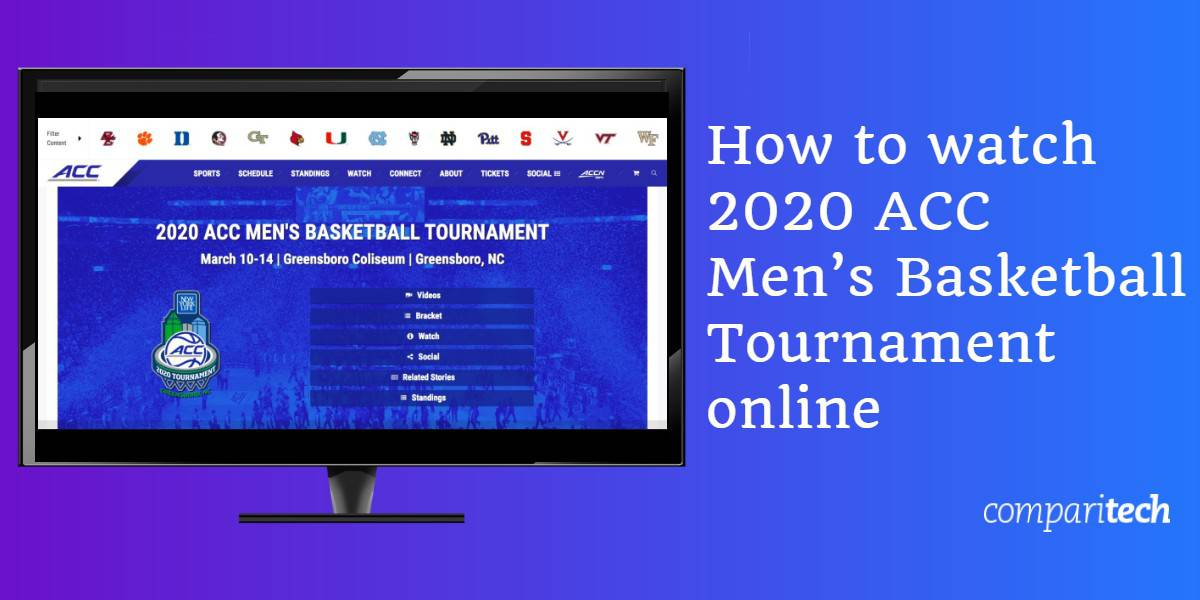 How to watch 2020 ACC Men's Basketball Tournament online