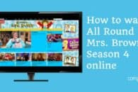 How to watch All Round to Mrs Brown's Season 4 online