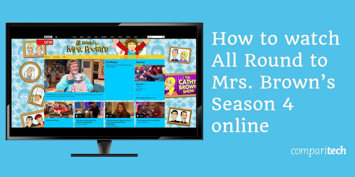 How to watch All Round to Mrs. Brown's Season 4 online