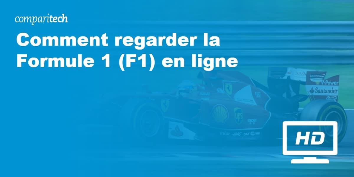 Comment regarder la Formule 1 (F1) en ligne